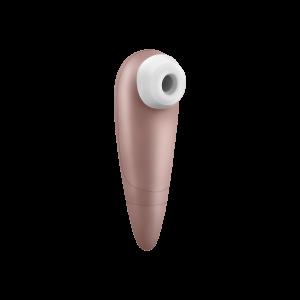Вакуумно-волновой стимулятор клитора Number One Satisfyer, золотистый