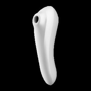 Вибро-вакуумно-волновой стимулятор Dual Pleasure Satisfyer, белый