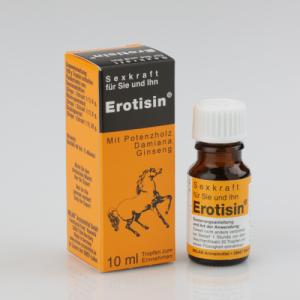 Средство для повышения сексуальной энергии EROTISIN, 10 мл